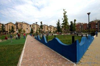 Giardini Giuseppe Saragat con parco giochi (600 metri)